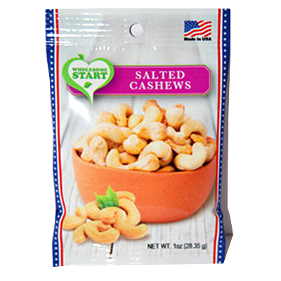 Wholesome Start Salted Cashews