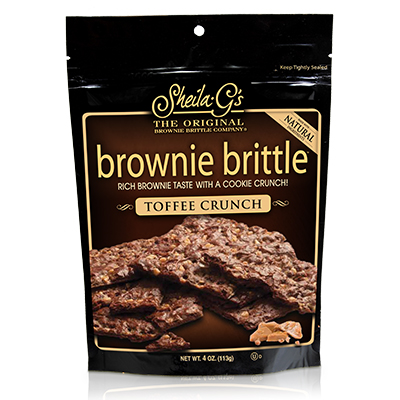 Sheila G's Brownie Brittles - 4oz Toffee Crunch